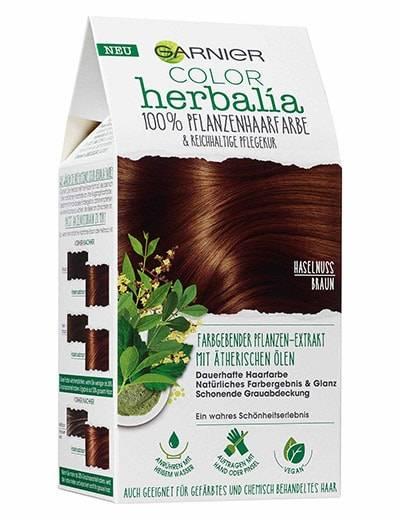 Haarfarbe schwarz pflanzlich