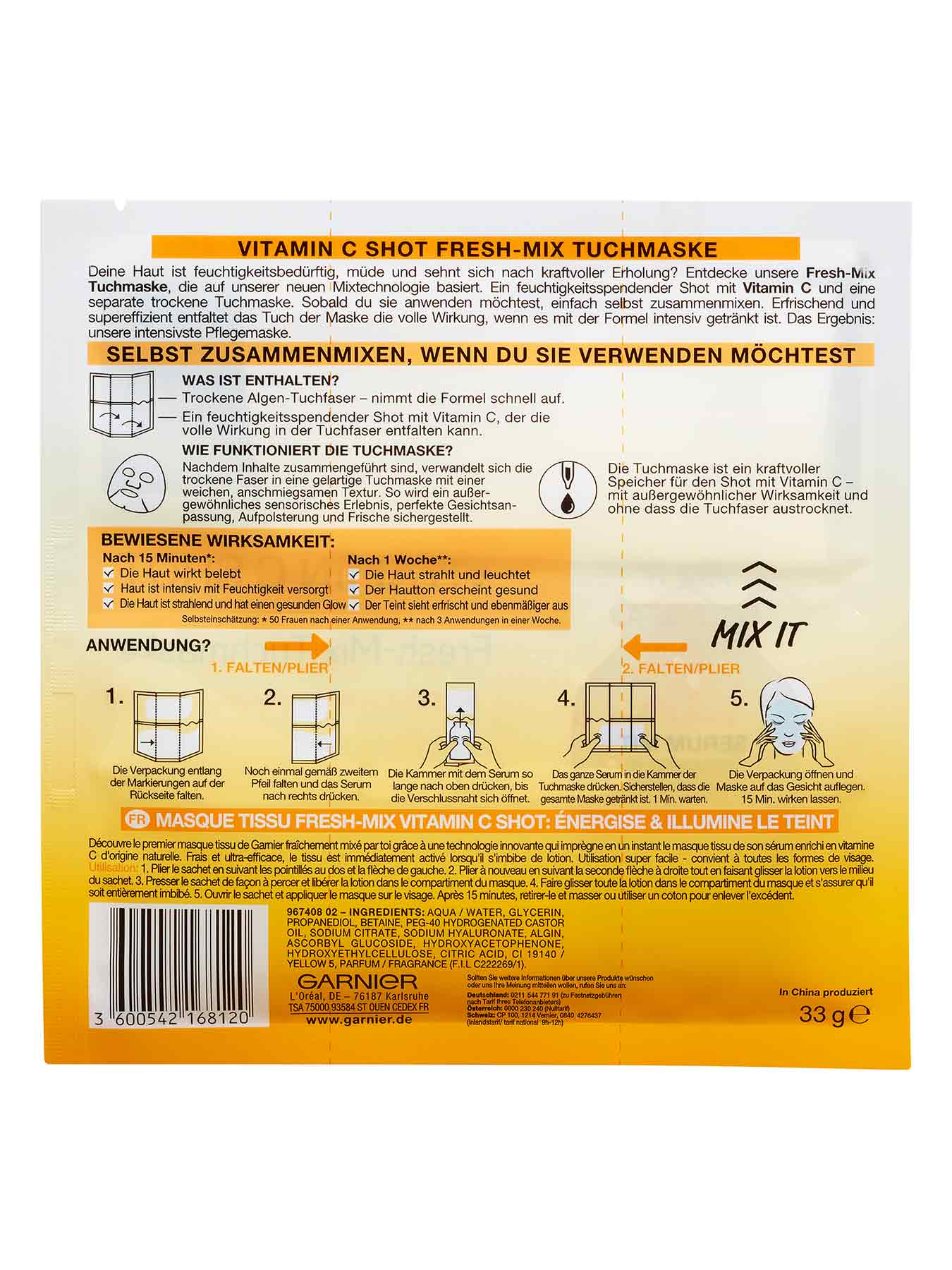 Vitamin-C-Shot-Fresh-Mix-Tuchmaske-Hydra-Bomb-33g-Rueckseite-Garnier-Deutschland-gross