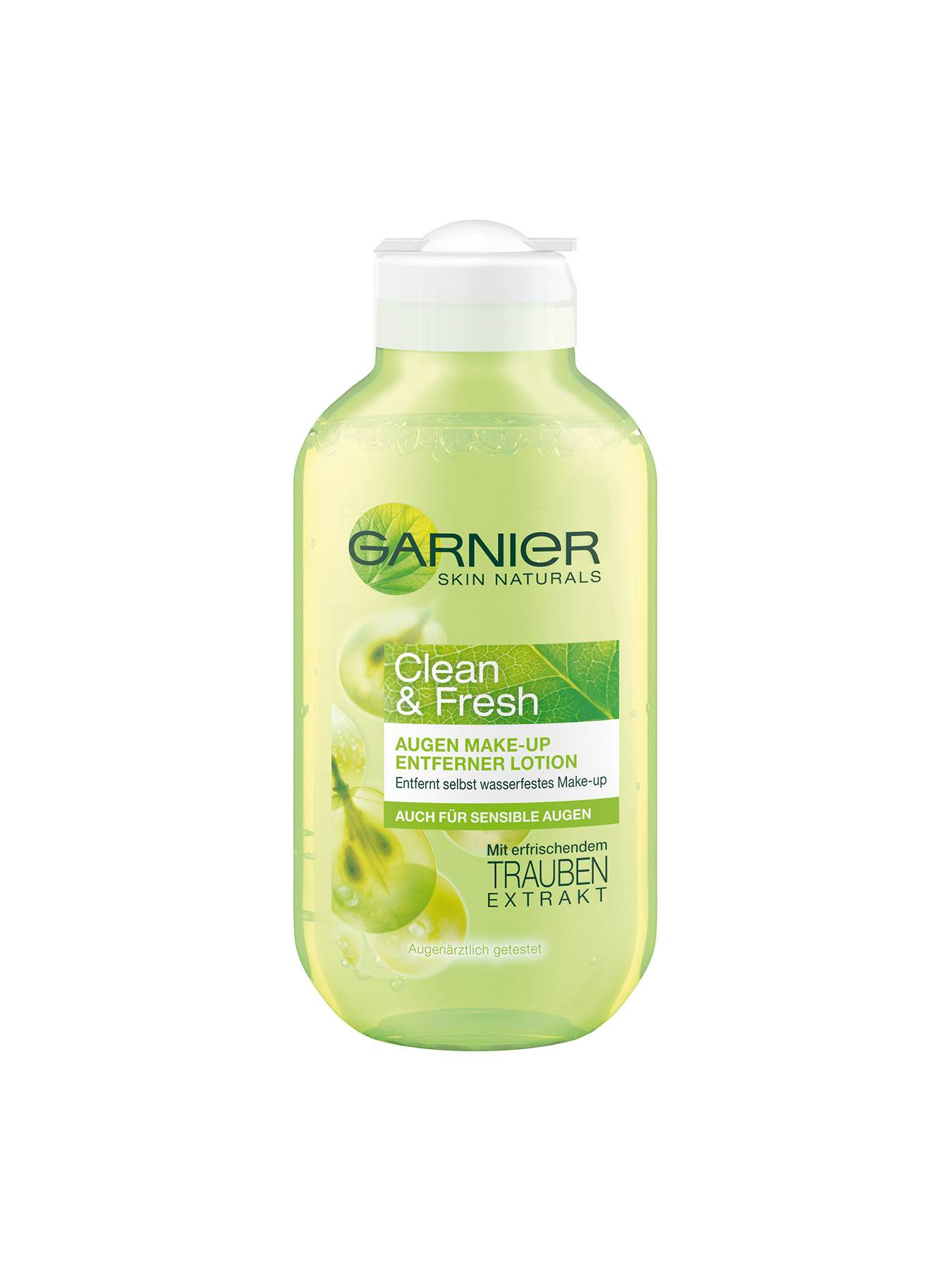 Augen-Make-up-Entferner-Lotion-Clean-and-Fresh-Mizellen-Reinigungswasser-125ml-Vor-Garnier-DE-gr