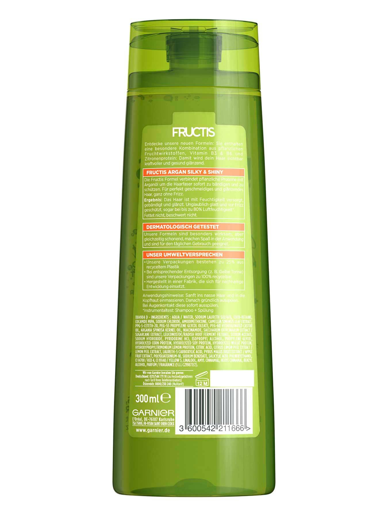 Silky-And-Shiny-Kraeftigendes-Shampoo-Fructis-Arganoel-300ml-Rueckseite-Garnier-Deutschland-gross