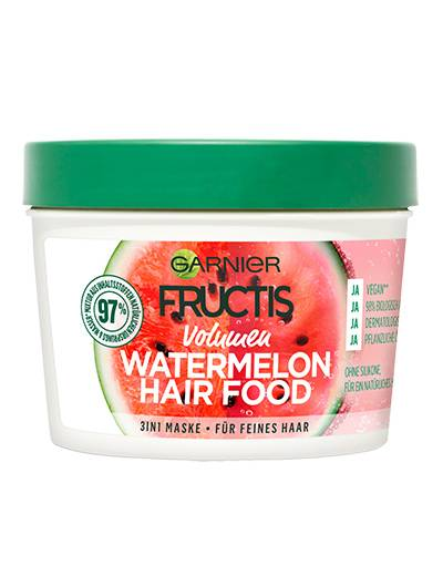 Fructis Hair Food Watermelon Haarkur Produktabbildung