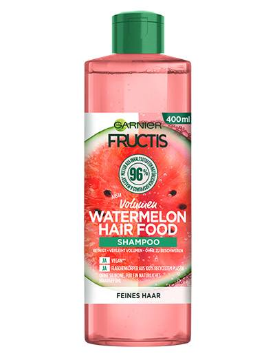 Fructis Hair Food Watermelon Shampoo Produktabbildung