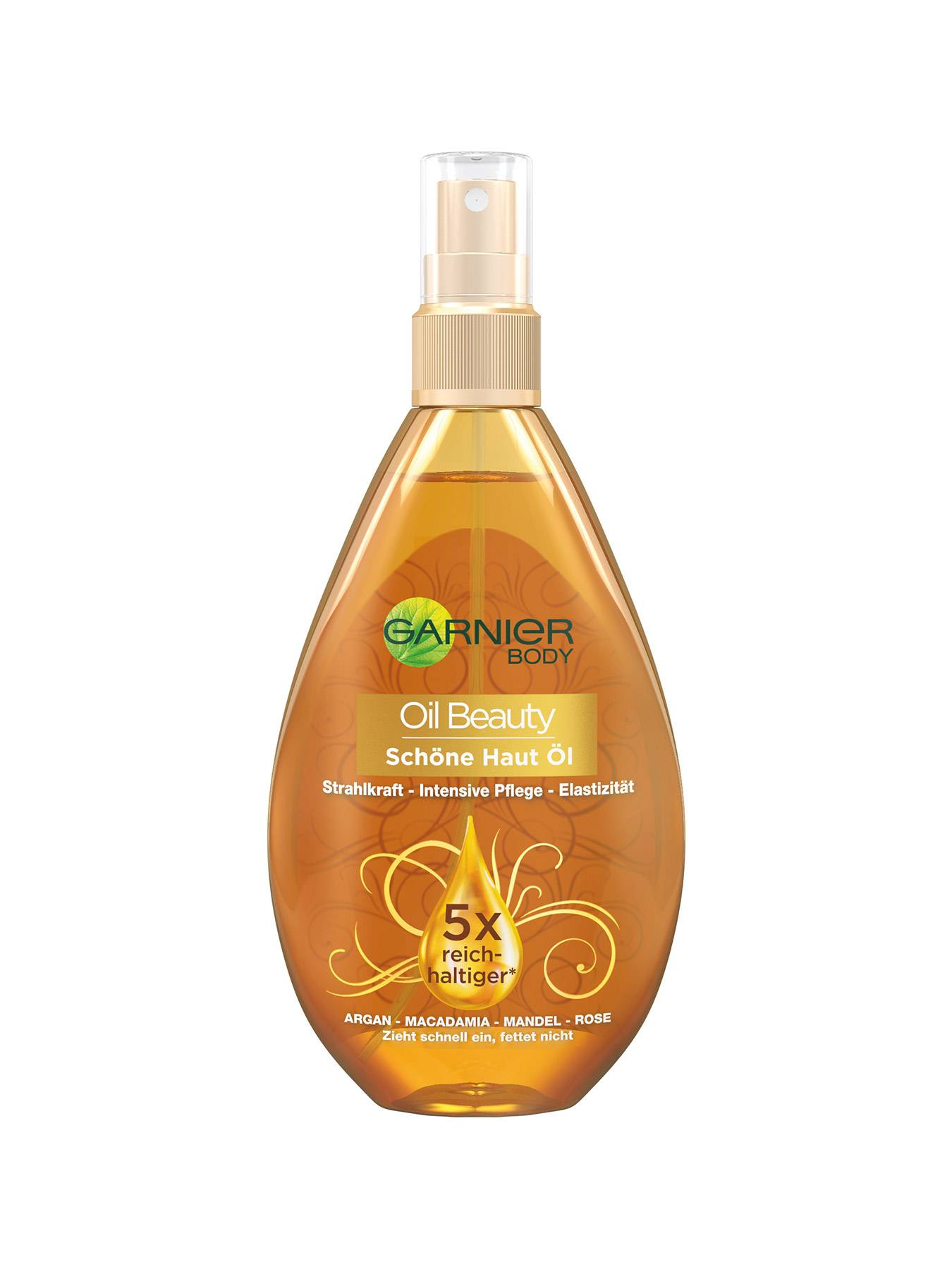 Schoene-Haut-Oel-Body-Oil-Beauty-150ml-Vorderseite-Garnier-Deutschland-gr
