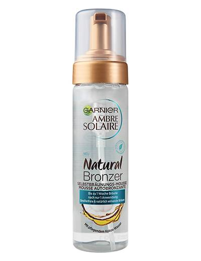 Ambre Solaire Natural Bronzer – Selbstbräunungs-Mousse